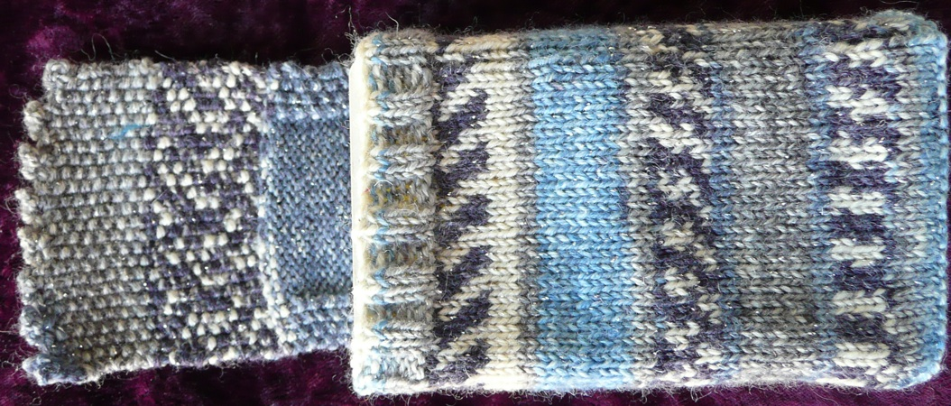 Knit Pattern Tarot Bag : Knitted Tarot Bags Mary K. Greers Tarot Blog
