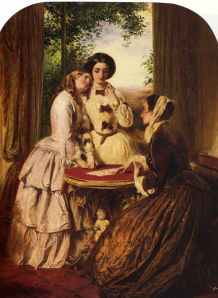 """Doubtful Fortune"" (1856) by Abraham Solomon"