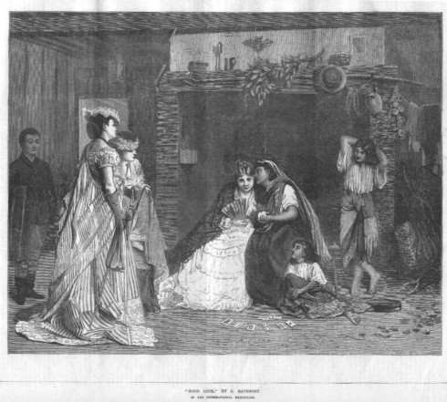 gypsy fortuneteller 1871