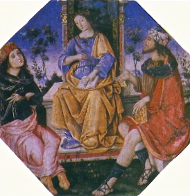 Isis & Hermes Pinturicchio 1494
