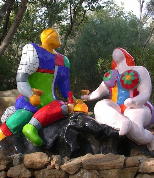 14-giardino-dei-tarocchi-Lovers