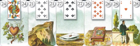 Who's Afraid Lenormand 1