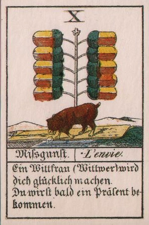 Comptoir Leipzig 1830 32 cards-Eichel - Version 2