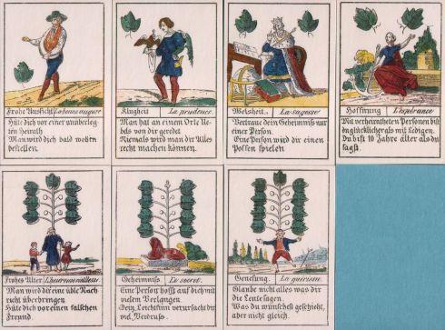 Comptoir Leipzig 1830 32 cards-Grun