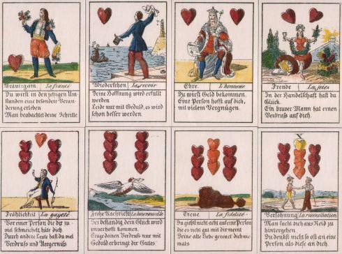 Comptoir Leipzig 1830 32 cards-rot
