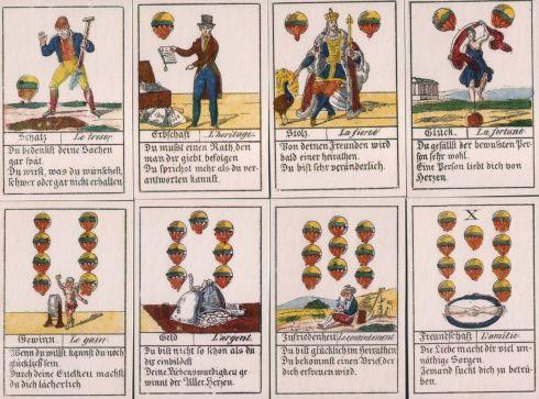 Comptoir Leipzig 1830 32 cards - schell