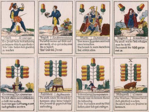 Comptoir Leipzig 1830 32 cards