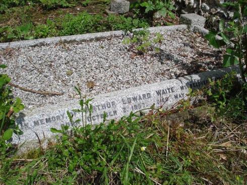 Waite's grave