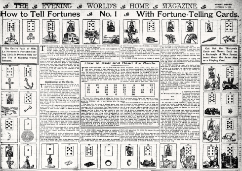 Evening World's Magazine-Tell Fortunes 1903 - Version 2