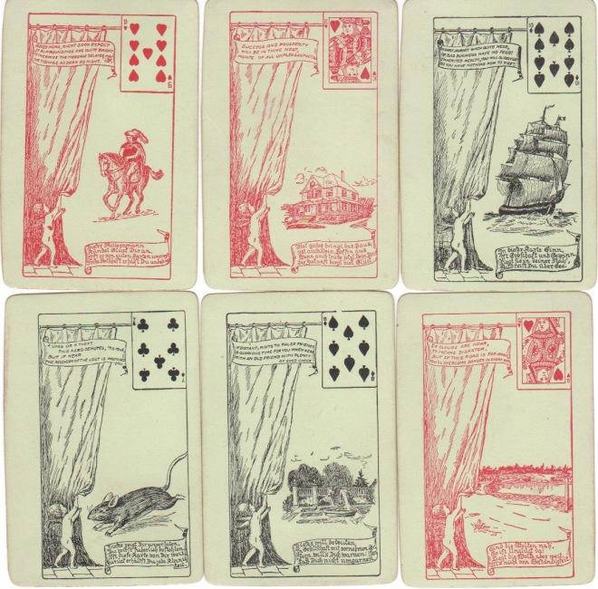 Gypsy Sabina Fortune Telling Cards 1904