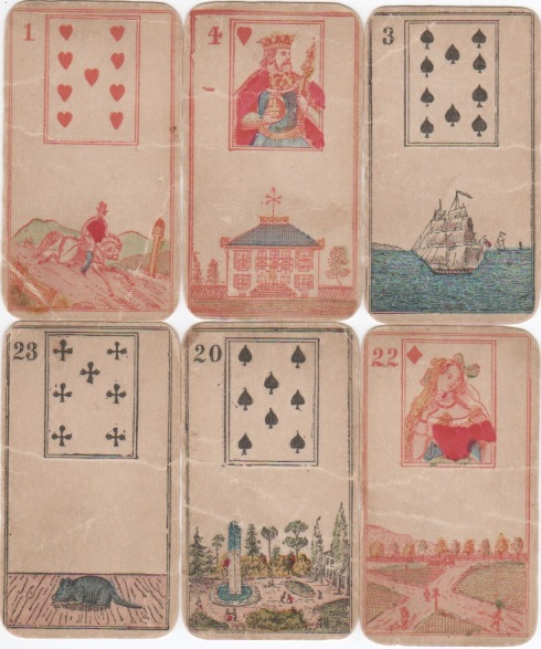 L'Oracle de Bonaparte ou Cartes de Mlle. Lenormand-NY