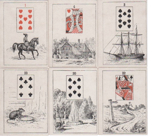 Madam Morrow's FT Cards 1886