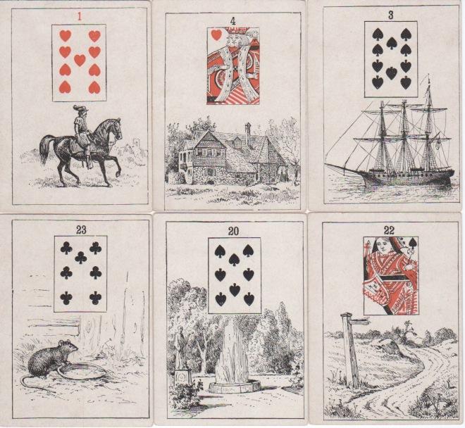 Madam Morrow's FT Cards 1886