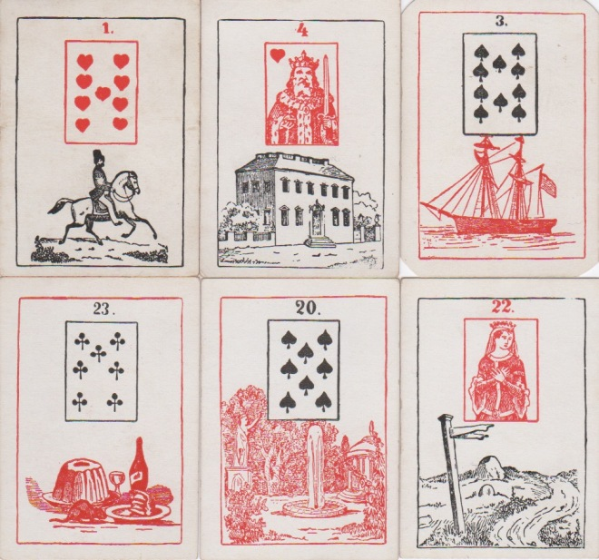 Madame Le Normand's Gipsy FT Card Game