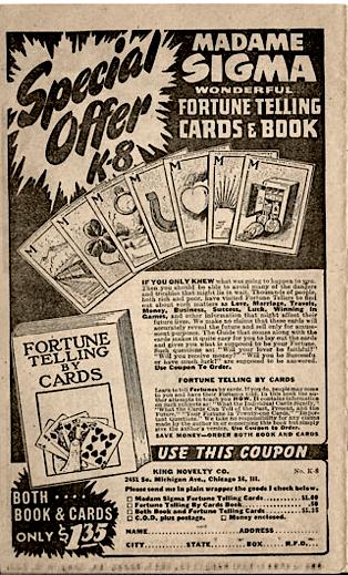 Madame Sigma FT Cards
