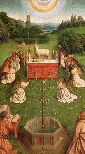 Adoration of the Mystic Lamb-Ghent