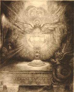 Santo Griaal-Rogelio Egusquiza 1893