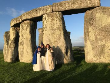 us at stonehenge
