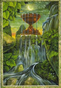 Druidcraft Ace of Cups